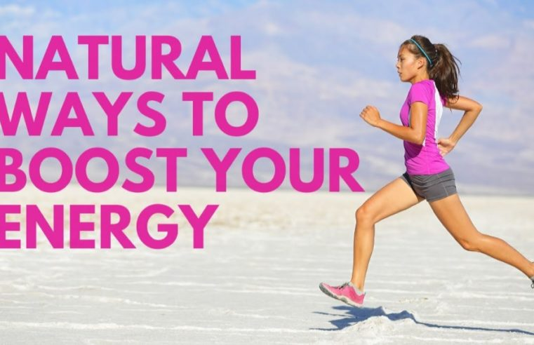 10 NATURAL WAYS TO BOOST ENERGY Without Coffee